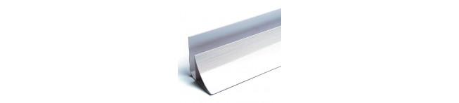 Планка угловая для панелей 3 мм. (ПЛАСТИК). Размер : 2500 мм. УГОЛ
