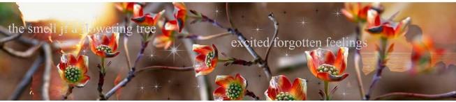 Кухонный фартук Цветущее дерево