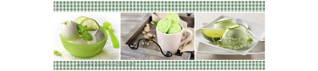 Кухонный фартук Фисташковое мороженое