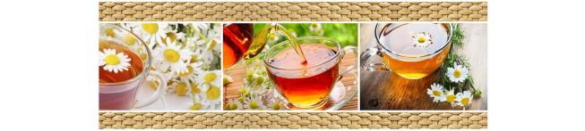 Кухонный фартук Ромашковый чай