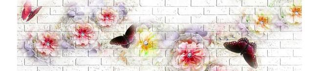 Кухонный фартук Бабочки