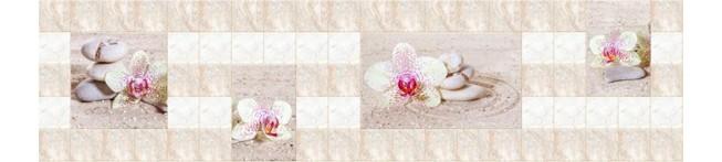 Кухонный фартук Орхидея на песке